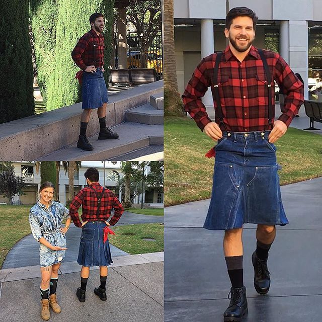 17 Best images about Skirts men can wear (Denim / Jean) on ...