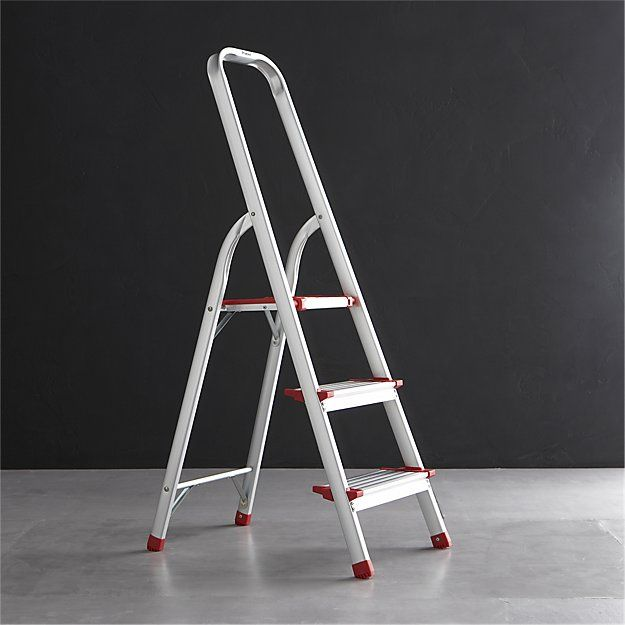 Polder ® 3-Step Ladder | Crate and Barrel