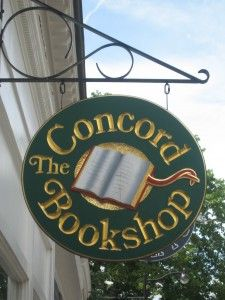 The Concord Bookshop; Concord, Massachusetts, I have spent many an afternoon here, love it!