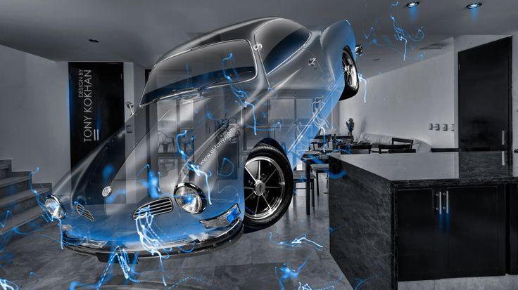 Volkswagen Karmann Ghia 1973 Retro Crystal Home Fly Energy Car 2015