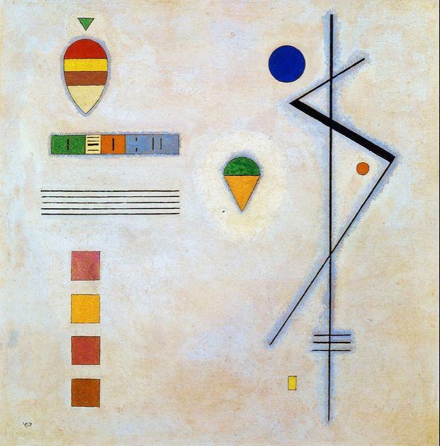 Von-Zu,1930,Wassily Kandinsky