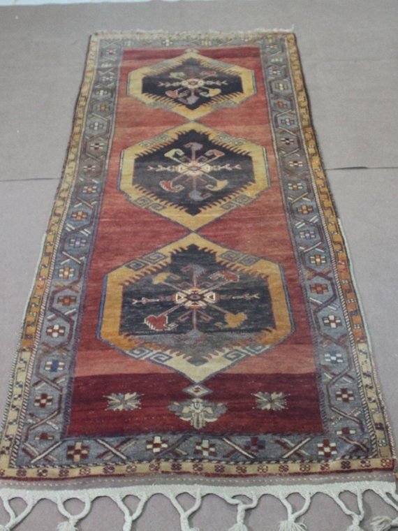 Oushak Runner Home Decorative Wool Hand Knotted Rug Fast And Etsy Rugs Turkey Colors Oushak