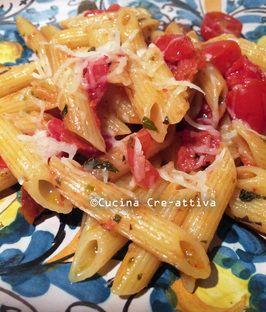 Pennette ai due pomodori e formaggio di Capra – Cucina Cre-Attiva