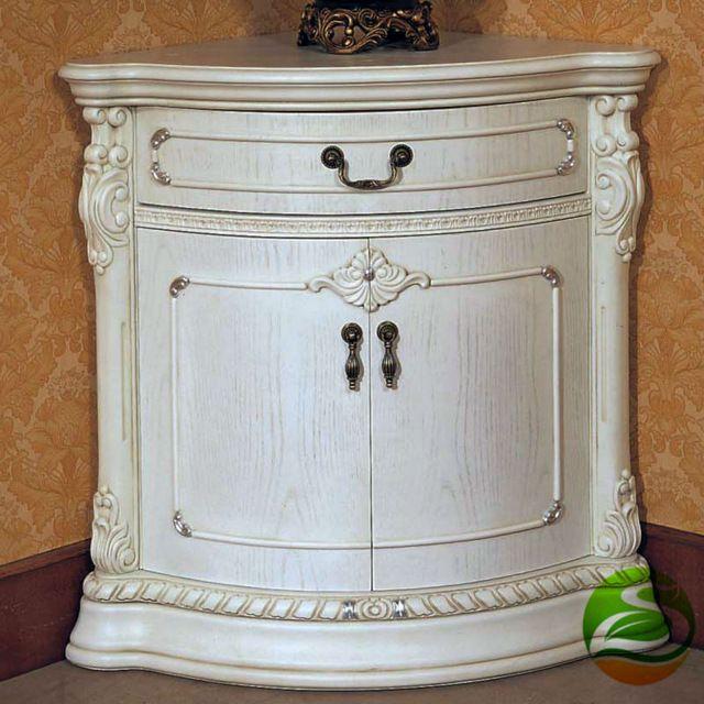 Белая Твердая древесина Карлик кабинет