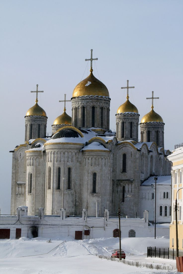 Владимир_Успенский_собор Vladimir Cathédrale de la Dormition