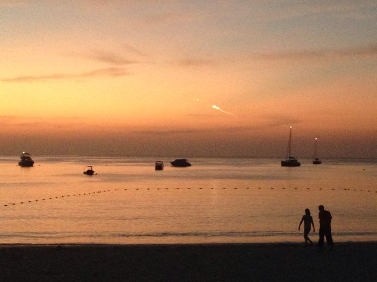 Lovely sunset, The Racha, Thailand