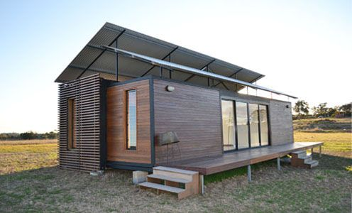 The Quickshack is a new modular product from Quicksmart Homes, but unlike our Big Brother, our minimum order is one module. Made from shipping container parts and clad in quality timber, the Quickshack is robust, beautifully designed, and perfectly suited to a country or beach property.