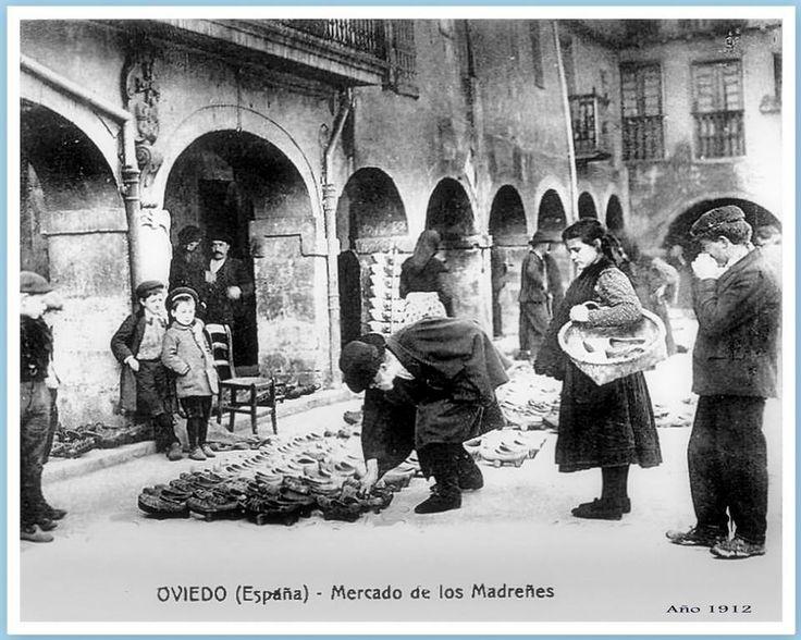 Mercado de les madreñes.