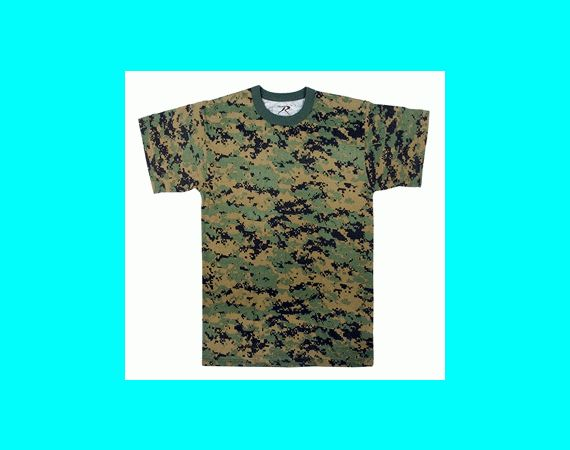 Youth Woodland Digital Camo T-shirt | Vermont's Barre Army Navy Store