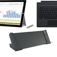 """Microsoft Surface Pro 3 (Type Cover and Surface Dock Bundle, 128 GB Intel Core i5)   This bundle includes: 1 - Microsoft Surface Pro 3, 128GB, Intel Core i5* - Surface Pro 3 is in a category of its own. With a stunning 12"""" display Read  more http://themarketplacespot.com/tablets/microsoft-surface-pro-3-type-cover-and-surface-dock-bundle-128-gb-intel-core-i5/"""