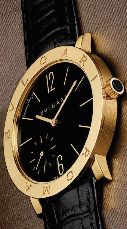 Fashion Jewellery Watches | RosamariaGFrangini || Bulgari Black* Watch