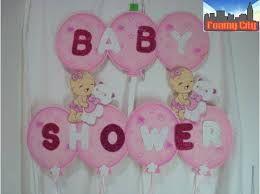 resultado de imagen para letreros para baby shower con fomi en color