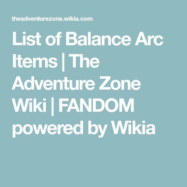 List of Balance Arc Items   The Adventure Zone Wiki   FANDOM powered by Wikia