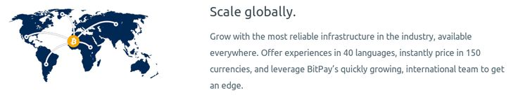 Scale globally. #Bitcoin is the number one worldwide payment solution.