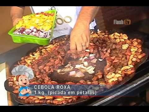 Receita Paella Gaúcha @ Flash Tv - YouTube