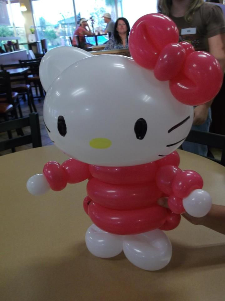 17 best images about diy hello kitty balloons on for Painting with a twist lewisville tx