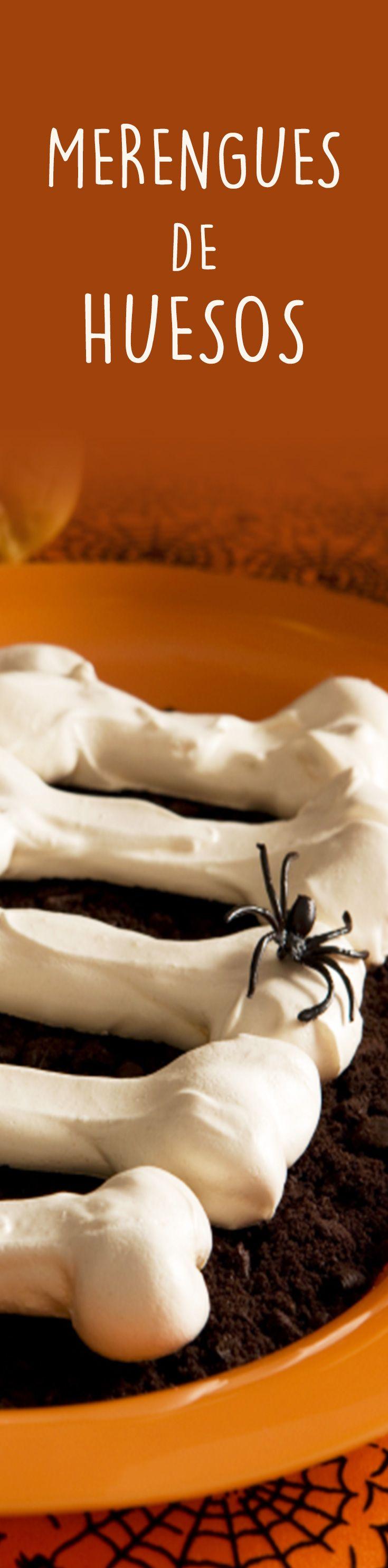 Esta receta es muy fácil y queda padrísima para una fiesta de halloween o día de los muertos. El secreto esta en como haces la forma de los huesitos.