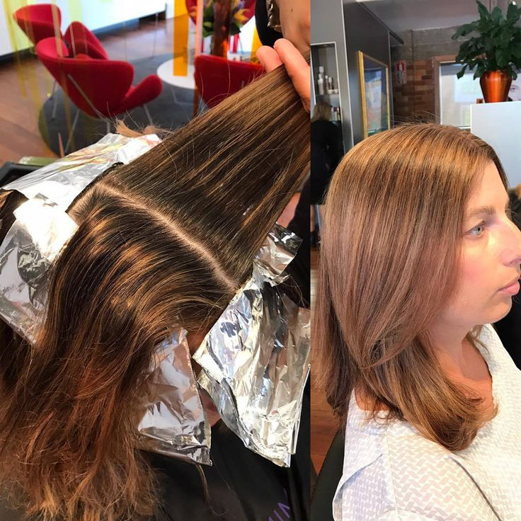 Our lovely colourist Lakaya from Hue Ponsonby did a fantastic job on our hair model yesterday. She removed the band of colour she had by doing fine foils throughout the top with a root colour in between. Gorgeous result.