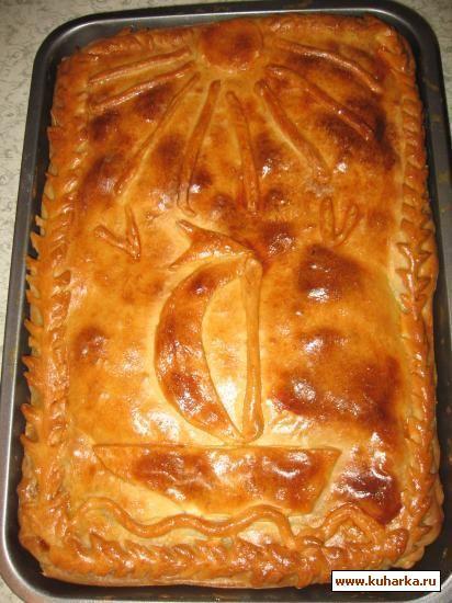 Я его уже добавляла, но рецепт был удален из-за отсутсвия фотографии. Пришлось печь пироги. Этот тесто научила меня делать бабушка моего мужа Александра Леонтьевна.