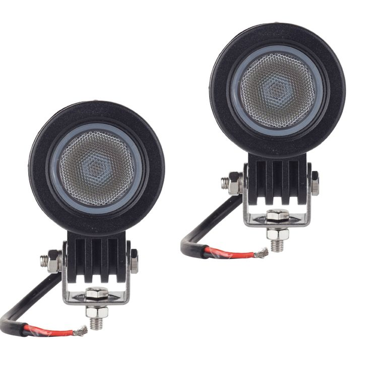 2pcs CREE chip 10W LED Work Light 2 Inch 12V Car Auto SUV ATV 4WD  4X4 Offroad LED Driving Fog Lamp Motorcycle Truck Headlight