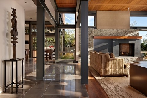 modern living room by McClellan Architects, Seattle | Cool ...