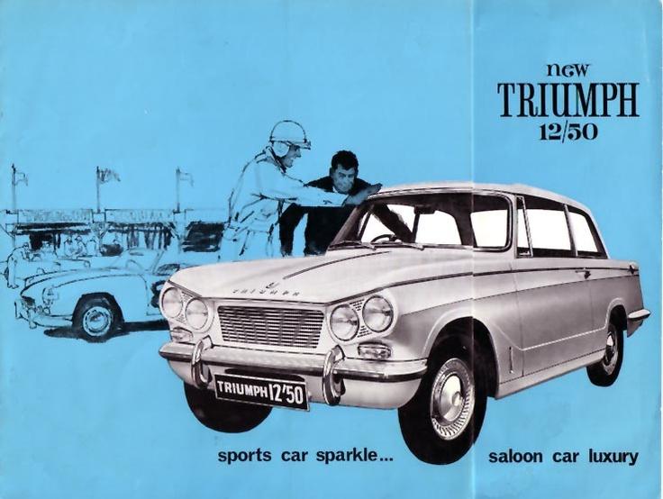 Triumph 12/50 Australian delivery - still got it!