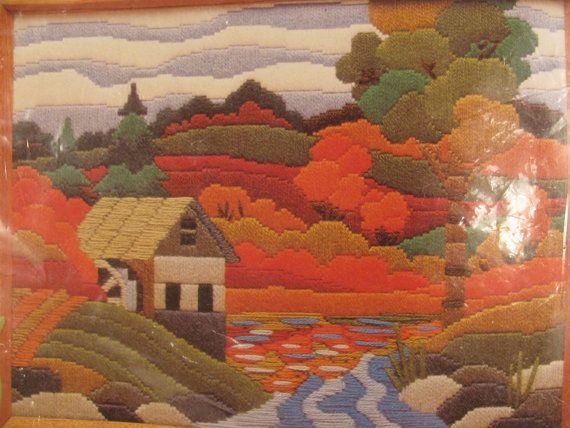 Creative Circle Old Mill Needlework Kit No. 1510 by gaelianna, $8.00