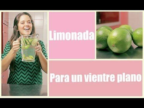 Limonada para vientre plano | Me lo dijo Lola