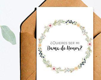 Quisieras ser mi dama de honor dama de honor serias mi dama   #dama #damadehonor #tarjetasdamadehonor #tarjetasdamahonor #tarjetas #imprimibles #madrinadehonor #bridesmaid #inspanish #enespañol #printables #español #spanish #maidofhonor #printablecards #boda #ceremonia #juegos #despedida #soltera #tarjetas #diseñosbonitos