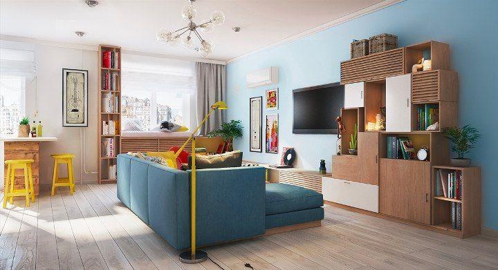 дизайн дома 80 кв. м