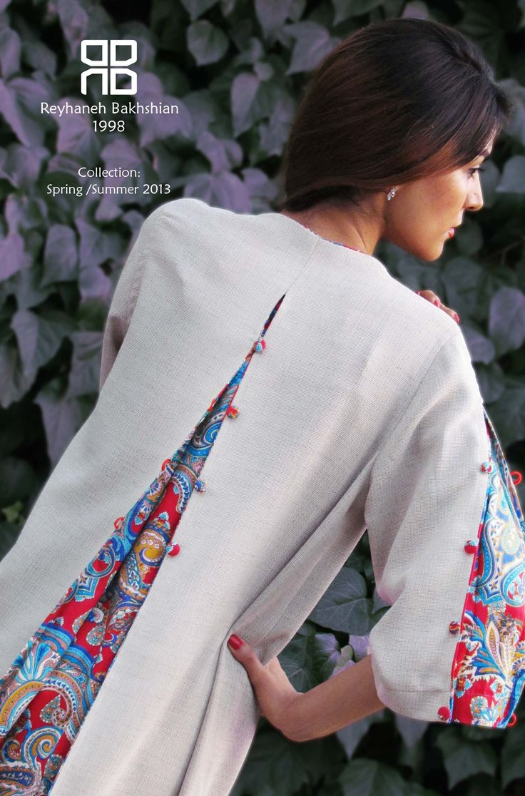 مانتو / Persian women style / Design by : Reyhaneh Alibakhshian