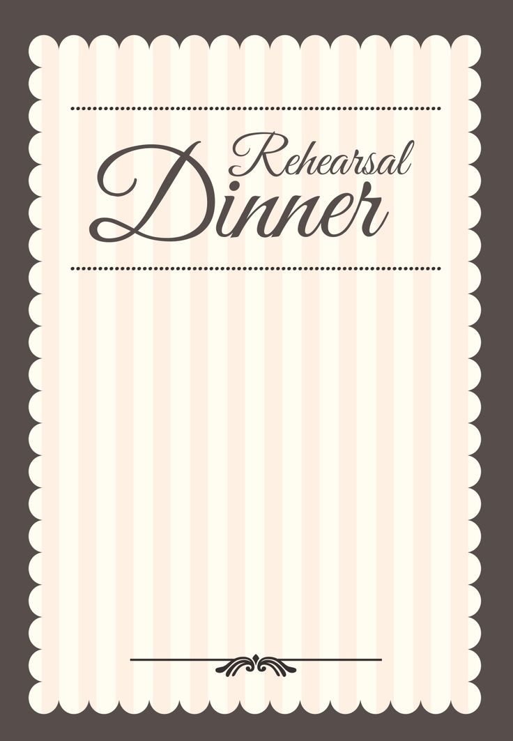 Stamped Rehearsal Dinner - Free Printable Rehearsal Dinner Party Invitation Template | Greetings Island