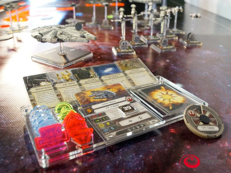 This organizer is a great addition to your X-Wing game collection! All cards and tokens which you need for your spaceship, now in one place. It's portable and durable. Organizer is made of high qualit