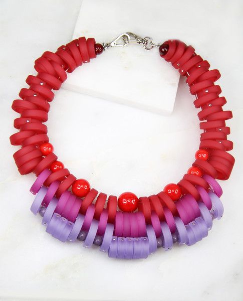 Klamir Red Racer Necklace