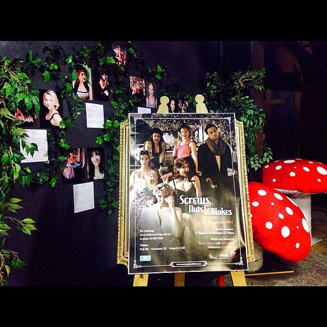 "@aubreyflood's photo: ""Opening Night! #screwsnutsandblokes #mfringe"""