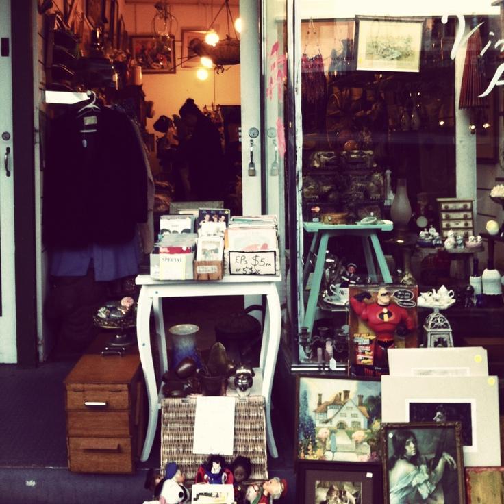 Antique / vintage store in Newtown, Sydney, Australia.