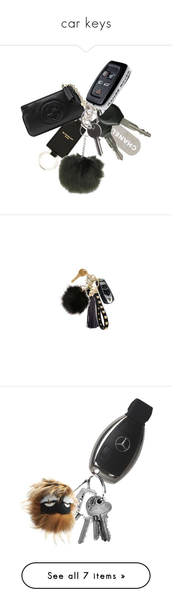 """car keys"" by geazybxtch24 ❤ liked on Polyvore featuring fillers, accessories, cars, random, filler, keys, things, misc, car key and everyday items"