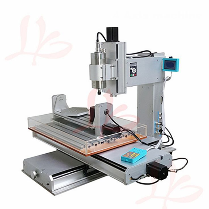 2200W CNC Router 5 Axis Vertical engraving 3040 3axis High Precision Ball Screw Table Column 4axis Type Drilling Milling Machine