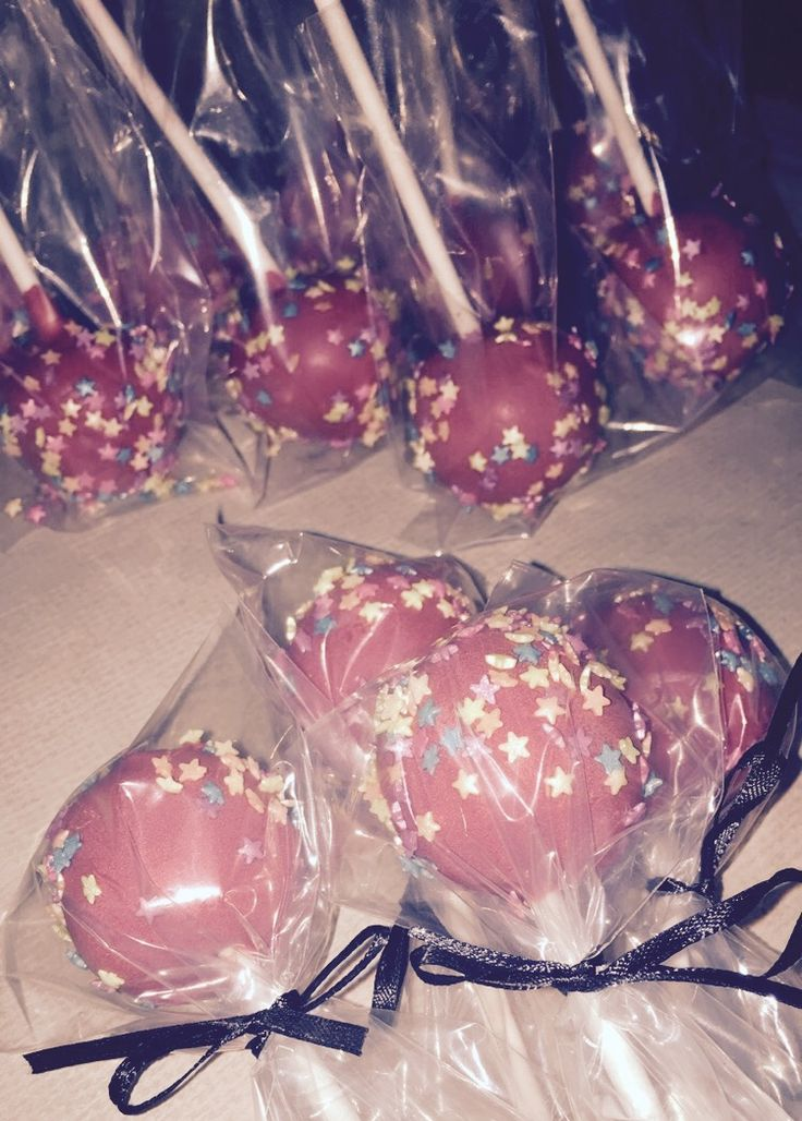 Homemade Cake Pop Orders | Red | Star Sprinkles | Nanny Life: Claire's Soccer Team: Firecrackers | #EivyMarie