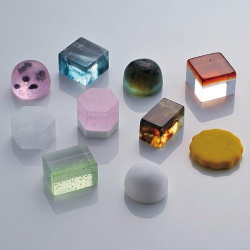 Japanese jewel sweets.