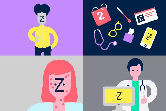 Zocdoc - Meet the face of a better healthcare experience | Wolff Olins