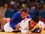 Felipe Kitadai takes on Elio Verde in men's -60kg Judo