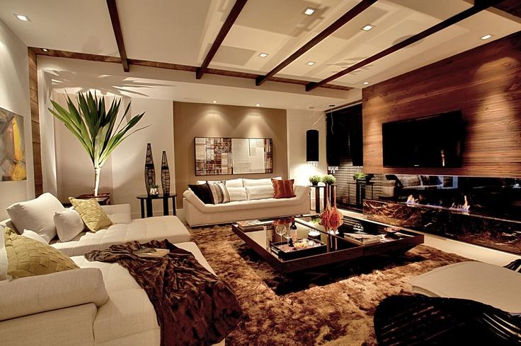 Pin by jessica guimaraes rodrigues da cunha on home sweet for Imagenes de salas modernas y elegantes
