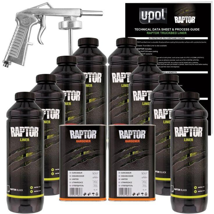 Pin on UPol Raptor Black Urethane SprayOn Truck Bed