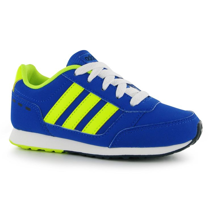 blue adidas neo trainers