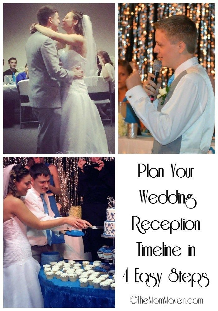 Plan Your Wedding reception Timeline in 4 Easy Steps