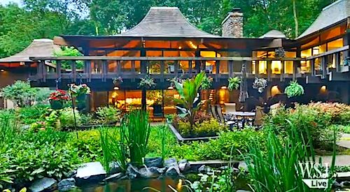 House of the Year: Pagoda-Style Echoes Wright (VIDEO)