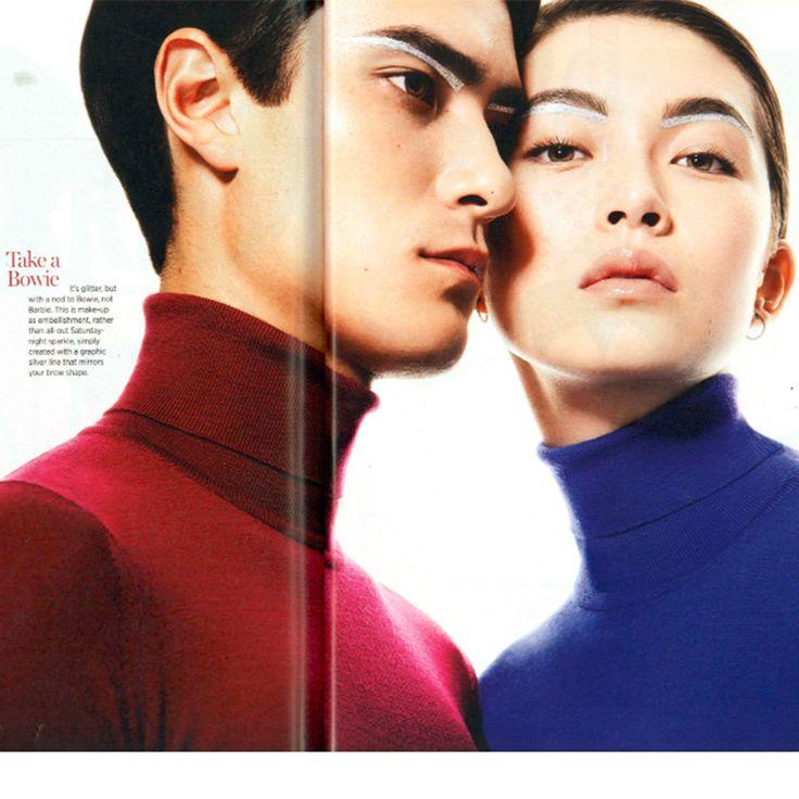 Cosmopolitan Magazine: John Smedley men's & women's roll necks