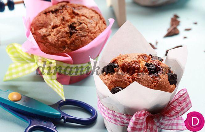 Κέικ με κόκκινα φρούτα και δυόσμο | Dina Nikolaou