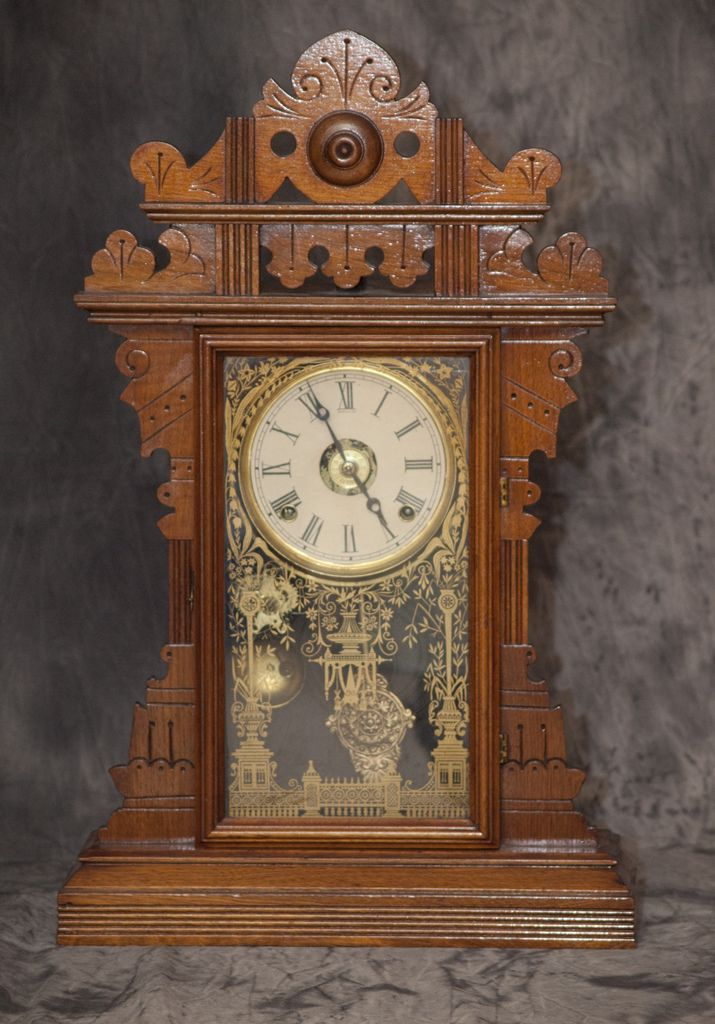 Eastlake kitchen clock. I have on of these or the mantel in the dining room at the farm.